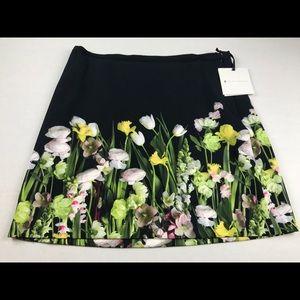 Victoria Beckham Target floral spring skirt xL new
